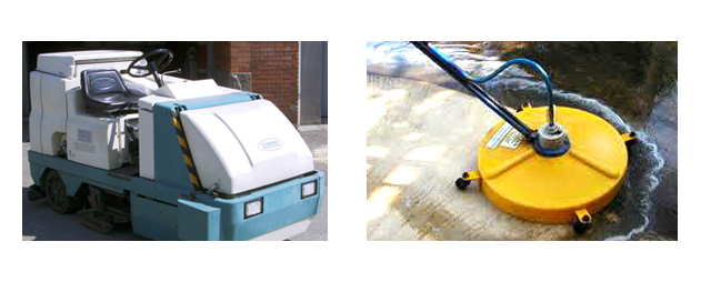 concrete cleaning colouring sealing equipment